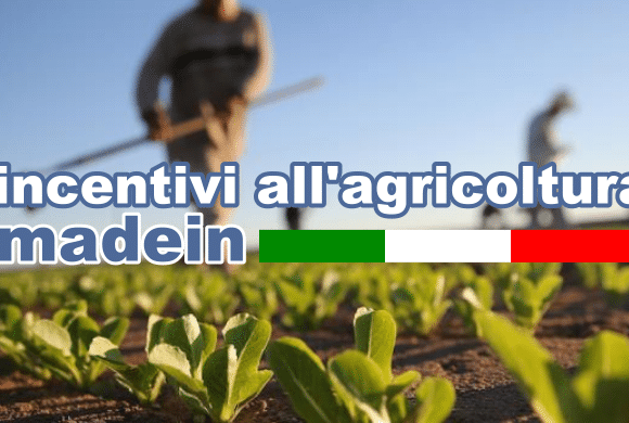 Incentivi all'agricoltura Made in Italy.